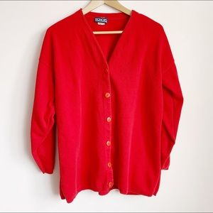 really soft 80s oversized cocoon cardi